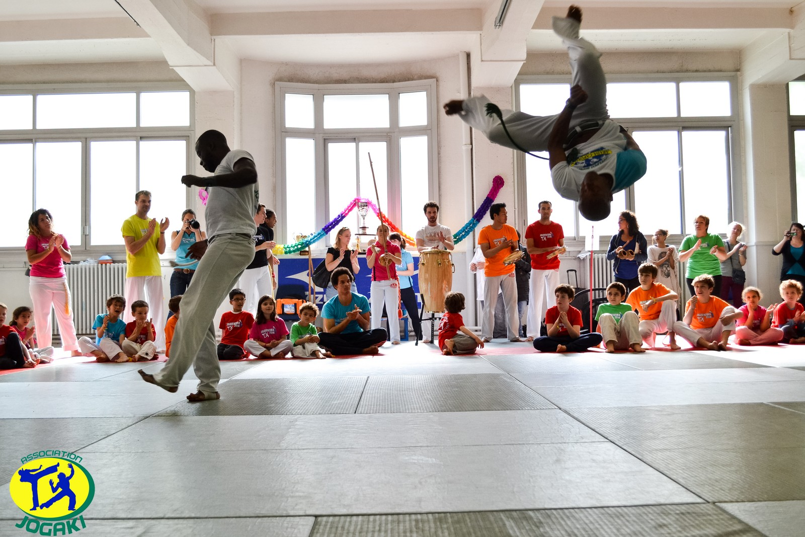 Association de Capoeira Paris Jogaki 2014 - atelier decouverte pour enfant jogaventura127 [L1600]